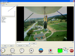 Ground station graphical user interface